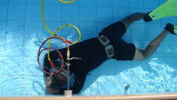 Vazamento na piscina de alvenaria: causas e o que fazer
