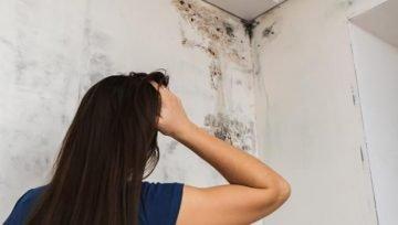 Parede do quarto com mofo: pode ser infiltração?